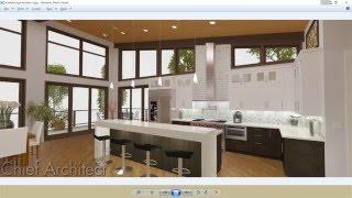 8-1 Kitchen Part 1 Room Layout, Cabinets, Dimensions - Breckenridge Home Design