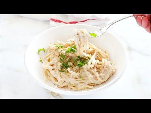 Vegan Alfredo Sauce | Creamy, Easy, Quick, Paleo Recipe