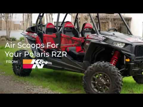 More Cool Airflow for Your Polaris RZR with K&N Performance