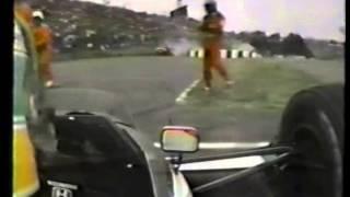 1989 F1 日本GP セナの押しがけ!かっこいい!