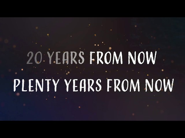Punger - 20 Years From Now (lyric video)