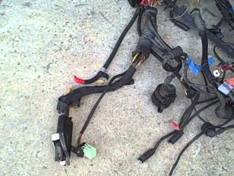 changing Wiring harness - YouTube on ford door switch wiring diagram, ford dash gauge pod, ford f-250 ignition wiring diagram,