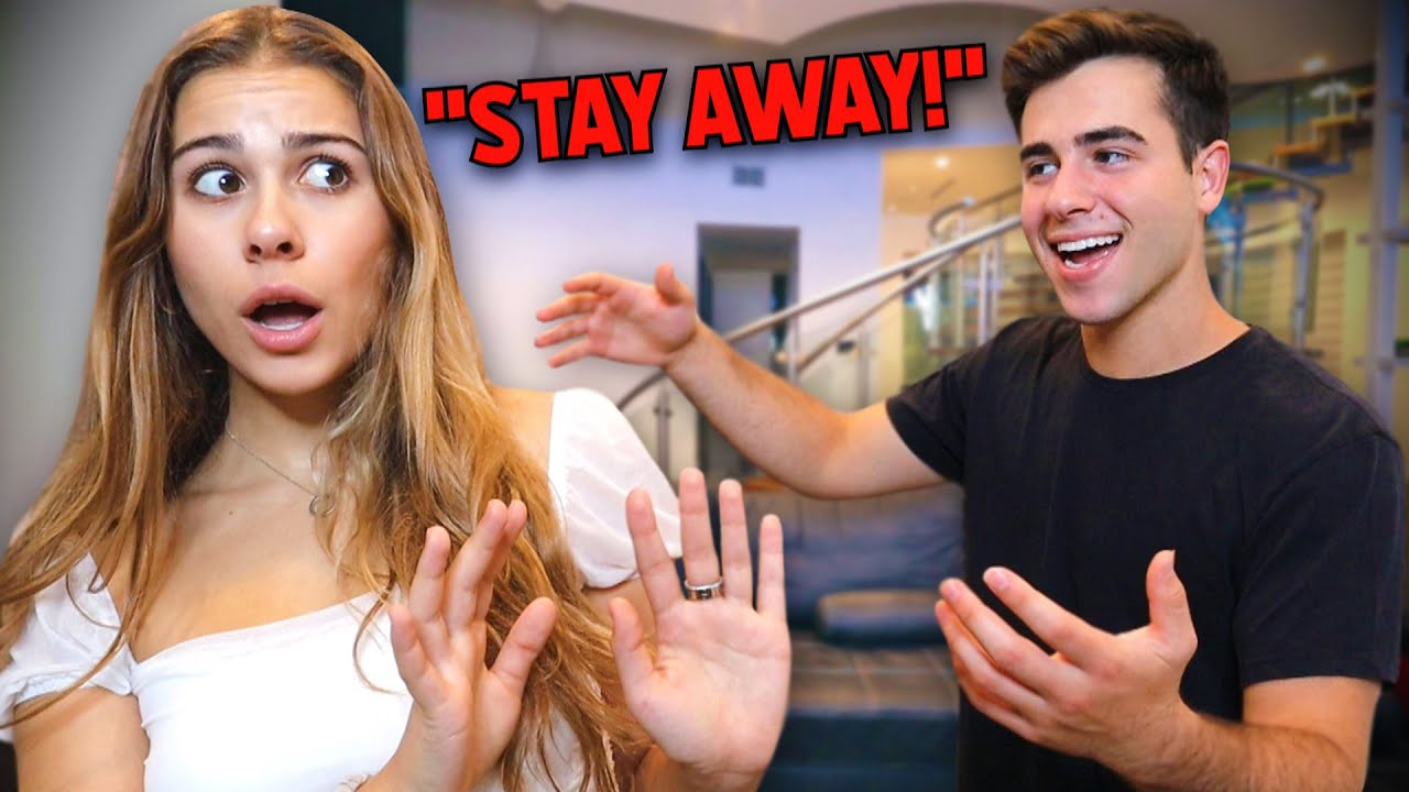 Acting Scared Of My Boyfriend! - YouTube
