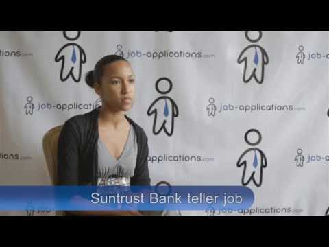 Suntrust Bank Interview - Teller