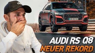 Rennfahrer reagiert auf AUDI RS Q8 NORDSCHLEIFEN REKORD | Daniel Abt