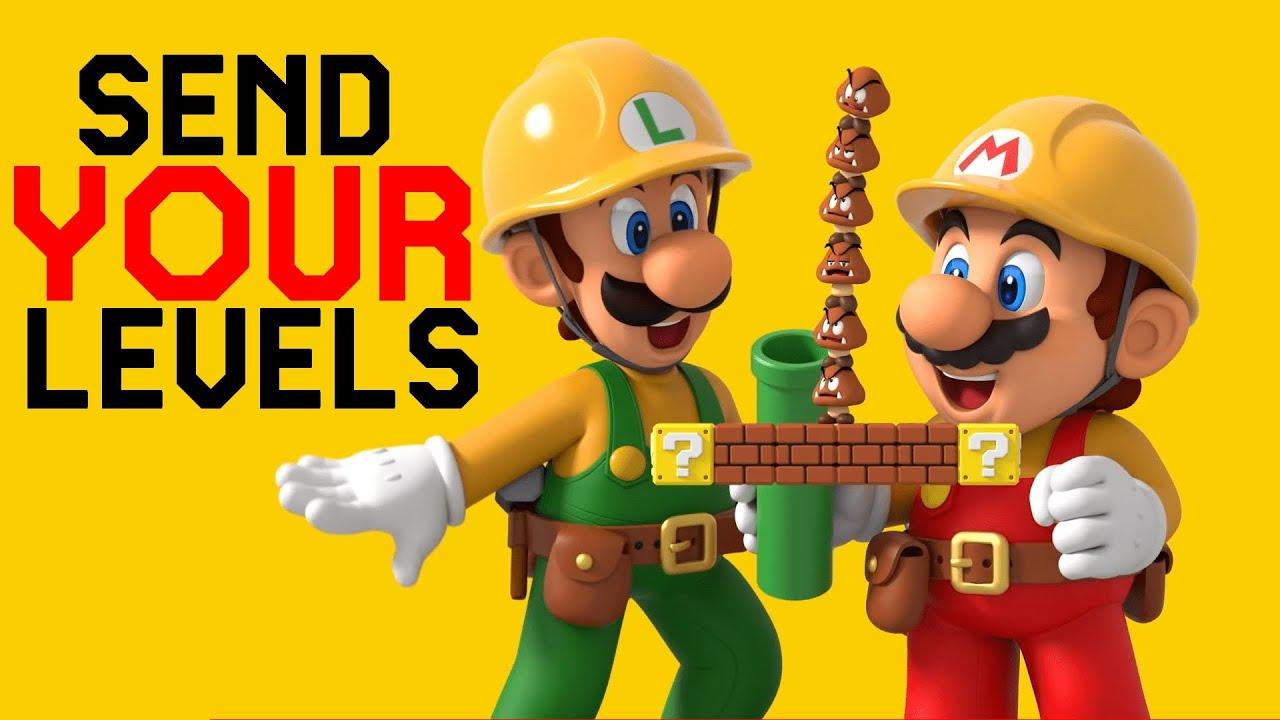 Send me YOUR LEVELS in Super Mario Maker 2