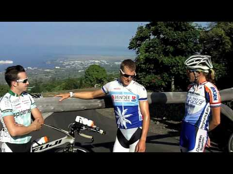 From Ironman World Championship triathlon in Kona: Morning ride with pro Tyler Butterfield