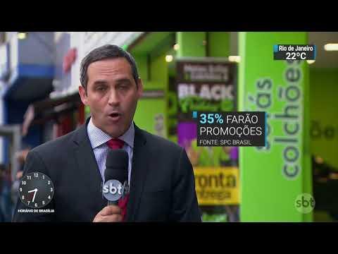 Pequenas empresas querem aproveitar black friday para aumentar vendas | SBT Brasil (20/11/17)