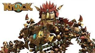 KNACK #1 - O inicio de uma grande aventura   PS4 1080p HD Português/PT