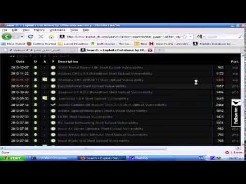 دورة اختراق المواقع والسيرفرات   الدرس 12   استغلال الثغرات من نوع Remote Shell Upload