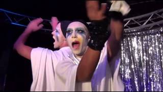"Lady Gaga Films Shangela & Courtney Act Performing ""Applause"""