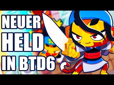 Ich teste den neuen Helden in Bloons Tower Defense 6! 🎈 Bloons Tower Defense 6