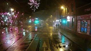 Mit der Stadtbahn durchs Silvester-Feuerwerk
