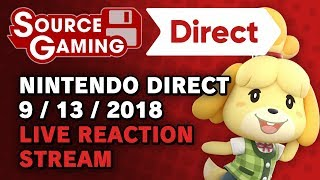 Nintendo Direct 13.09.2018 LIVE REACTIONS