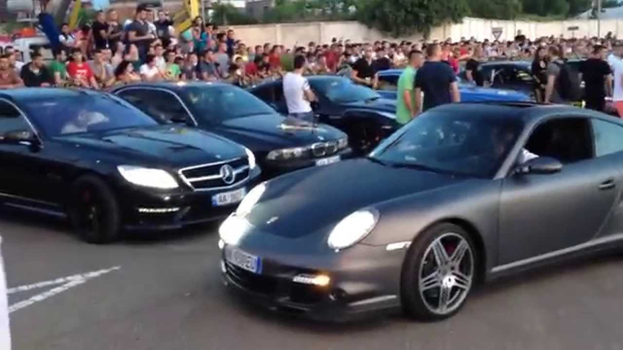 Benz Drift Car >> Albania Car Show 2016 - YouTube