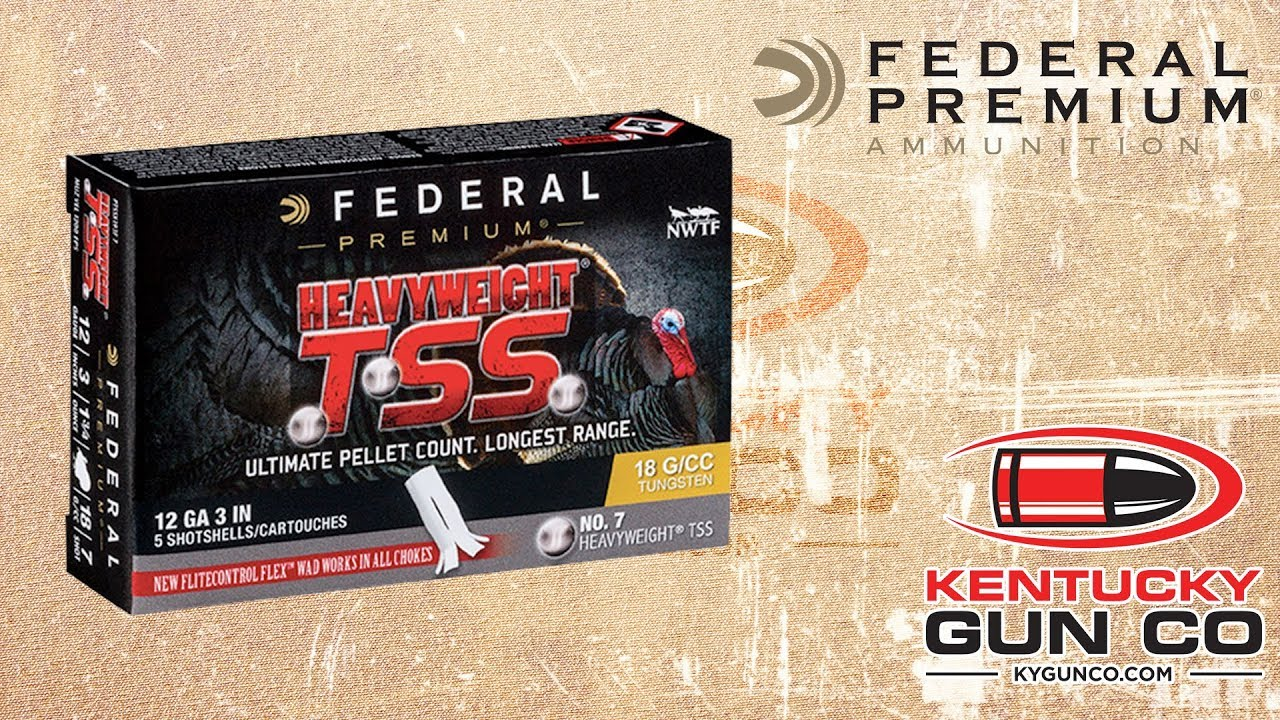 Federal Premium 12 gauge Heavyweight TSS Turkey Load