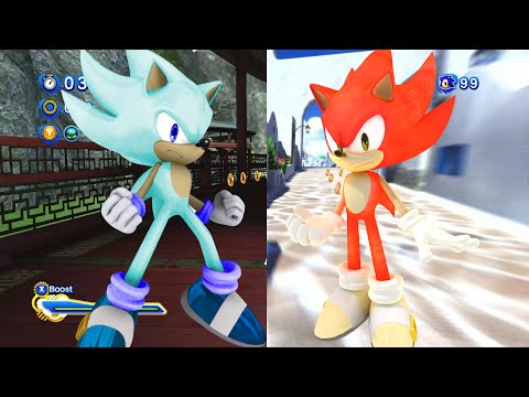 Sonic Generations MODs: Fire & Ice (Super) & Unleashed Project