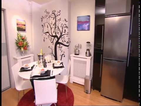Wall Glamour on ITVs 60 Minute Makeover  Reveal  YouTube