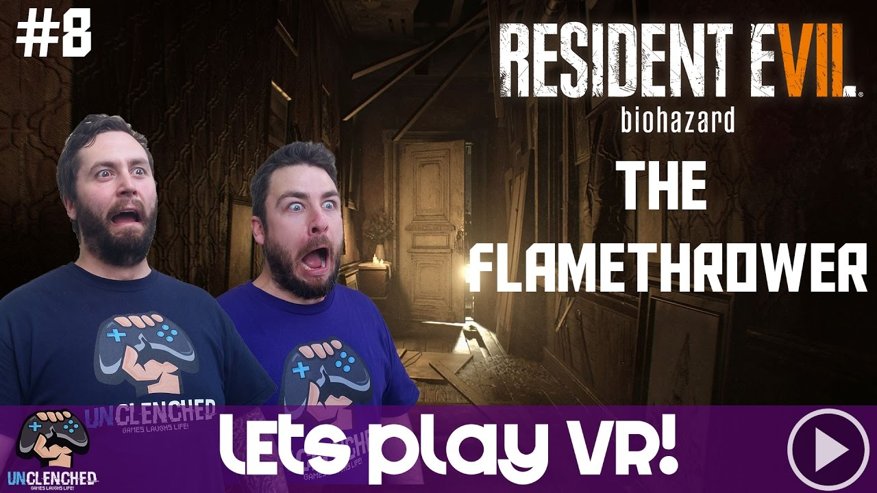 resident evil 7 how to get flamethrower