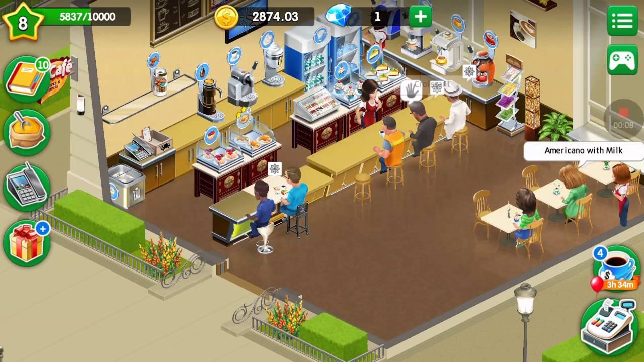 My Cafe: Recipes & Stories #9 level 8 - Unlock Lemon Topping