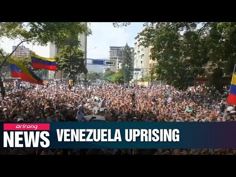 Tensions mount in Venezuela following opposition leader's call to oust Maduro