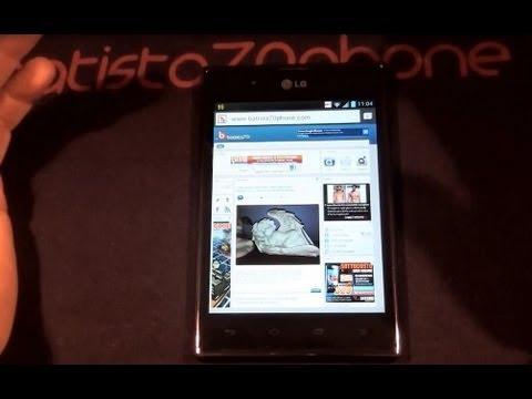 Video Recensione LG Optimus VU da batista70phone