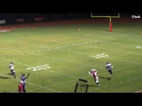 Christian Coleman's Senior Football Season (2013 - Our Lady of Mercy Catholic High School)