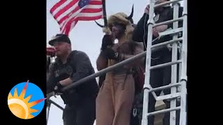 Court releases video of Jake Angeli, who mobbed U.S. Capitol in fur hat and horns