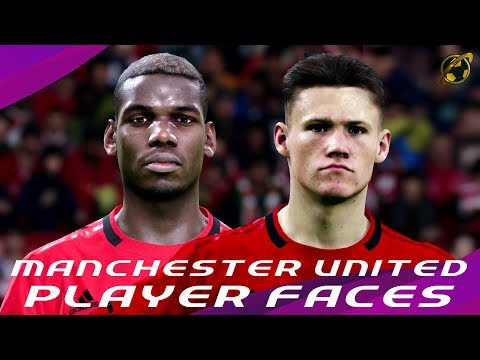 EFootball PES 2020 | Manchester United Faces + Exclusive Screenshots