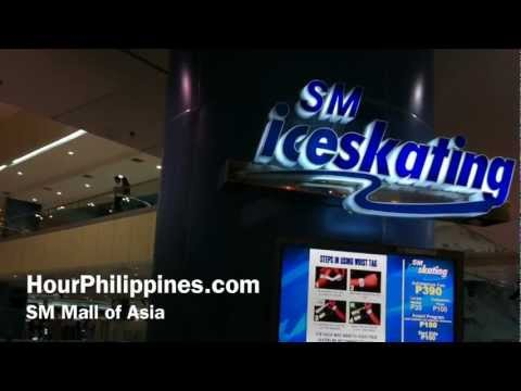 SM Ice Skating SM Mall of Asia Manila Philippines by HourPhilippines.com