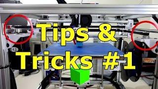 HyperCube 3D Printer: Tips & Tricks #1