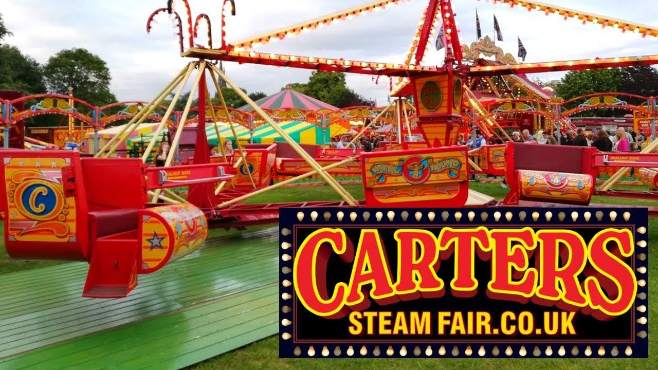 Fairground Ride Video DVD:CARTER/'S STEAM FAIR Lichfield 2017 Vintage Fair