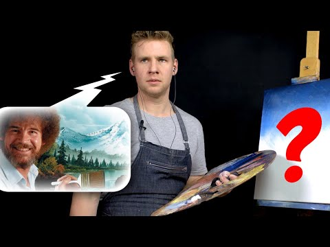 AUDIO ONLY Bob Ross Painting Challenge!! - ( NO Video!)