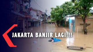 Hujan Lebat Jumat Malam, Jakarta Banjir Lagi!!