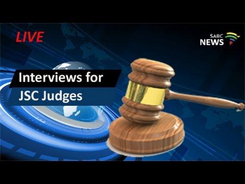 Judicial Service Commission judges Interviews