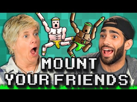 MOUNT YOUR FRIENDS! (Adults React: Gaming)