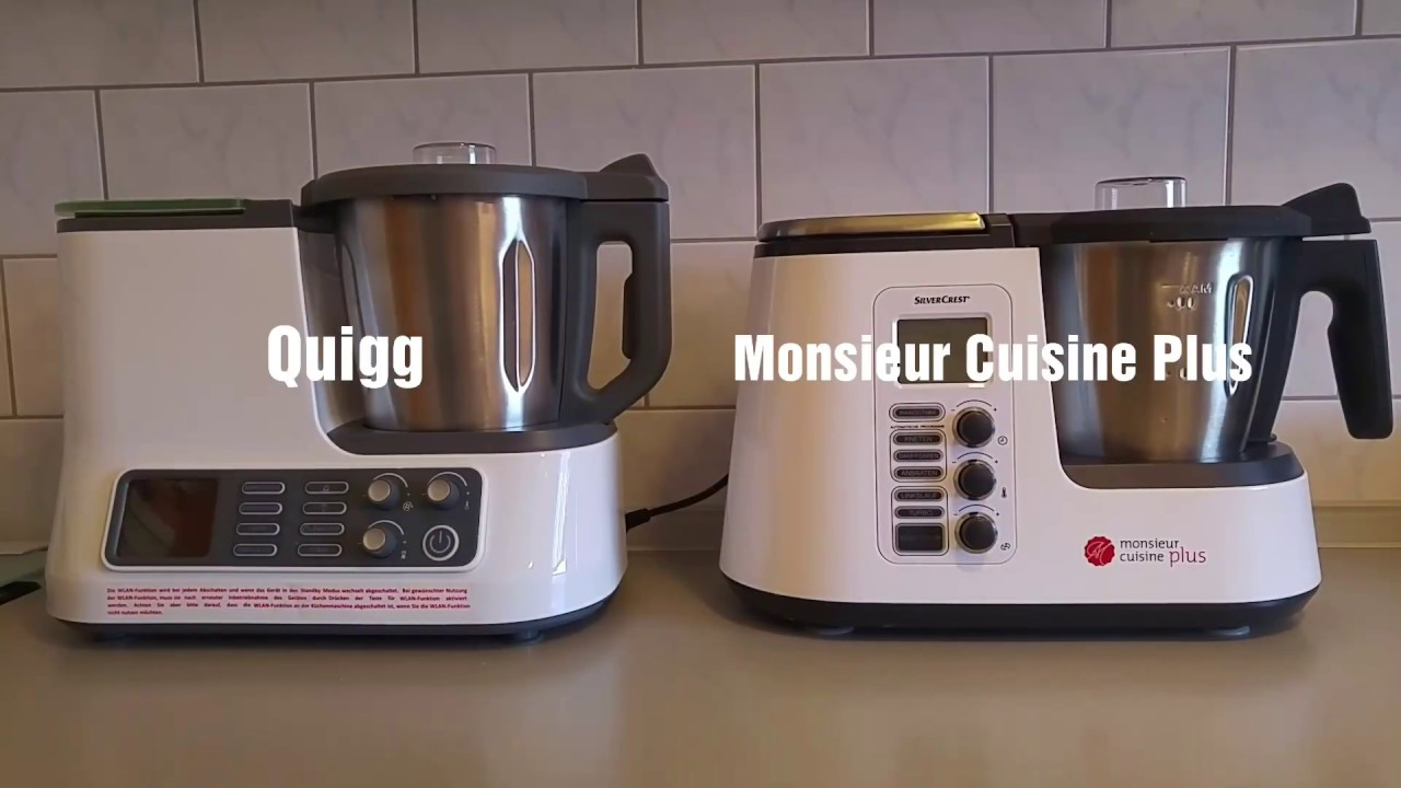 Quigg ambiano k chenmaschine mit wlan funktion 2017 for Robot menager monsieur cuisine plus