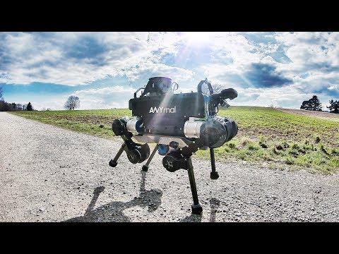 .瑞士發明 ANYmal 四足機器人 可檢查下水道等區域