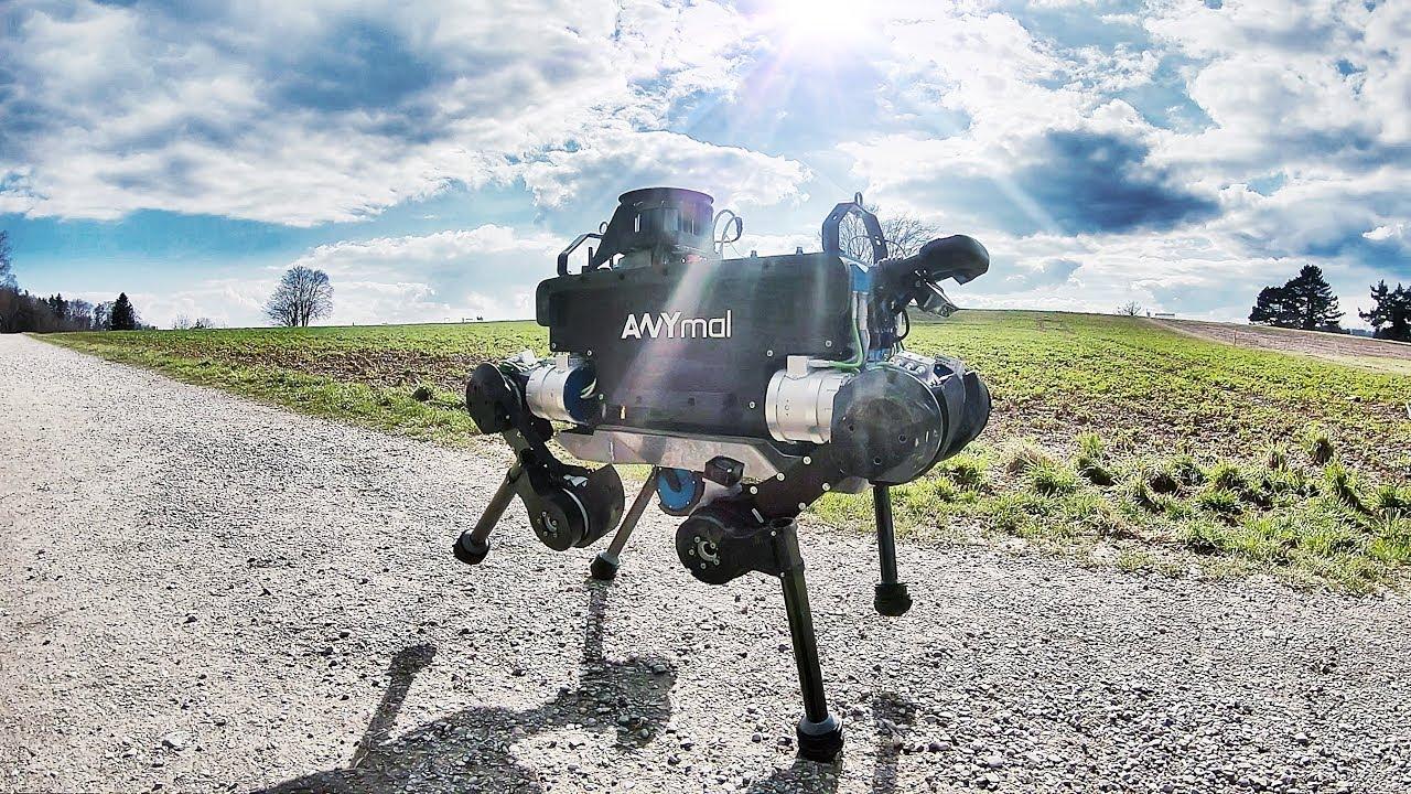 Anymal  U2013 Let Robots Go Anywhere