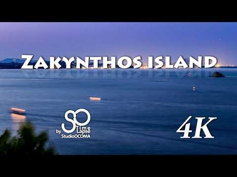 4K Timelapse & Hyperlapse at Zakynthos Island, Ionian Sea, Greece