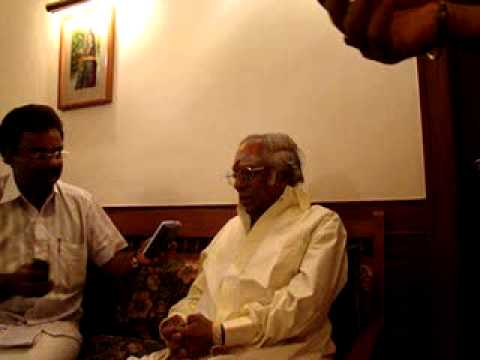 MSV interviewed by Adv ST Sureshkumar on 11 01 2009 at Trivandrum