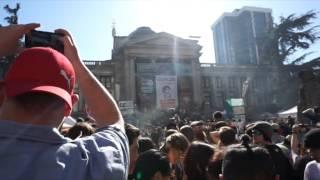 Video 420 Vancouver City Celebrations 2015 - Binaural Recording (use headphones) download MP3, 3GP, MP4, WEBM, AVI, FLV Juni 2018