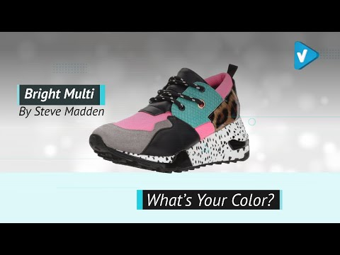 Steve Madden Women's Cliff Athletic | Fashion Sneakers 2019 Collection
