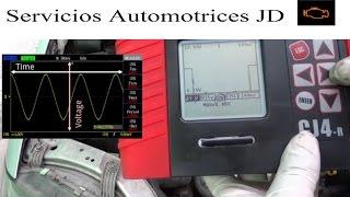 osciloscopio automotriz parte 1 scanner cj4