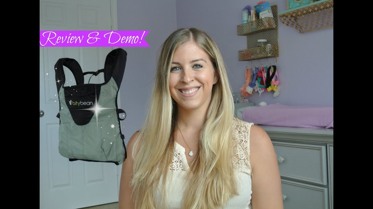 Bitybean Baby Carrier Product Review Demo