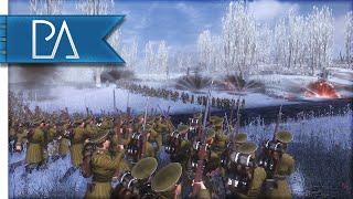 MASSIVE RUSSIAN ASSAULT - The Great War Total War Mod Gameplay
