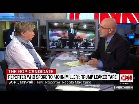"Reporter who interviewed ""John Miller"": Trump L..."