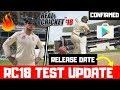 Real Cricket 18 Test Match Update Release Date | RC18 Big Test Update | Real Cricket 18 New Update