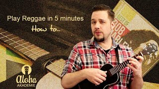 Play Reggae in 5 minutes (german subtitles) - ukulele lesson - Aloha Akademie