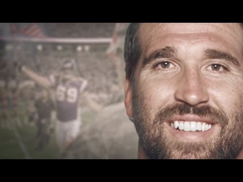 Jared Allen: Salute To Service | Football Is Family | NFL